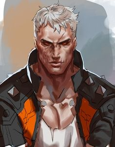 Overwatch Comic, Overwatch Fan Art, Iconic Characters, Special Characters, Jack Morrison, Bryan Fury, Character Art, Character Design, Overwatch Wallpapers