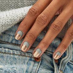 Short Gel Nails, Short Nails Art, Short Nail Manicure, Minimalist Nails, Minimalist Fashion, Cute Nails, Pretty Nails, Hair And Nails, My Nails