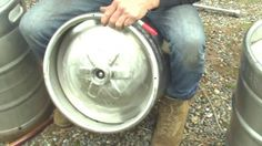Turn used Keg into a Boiler for Moonshine Still or HOMEBREW