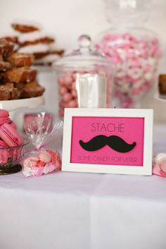 """Hehe. """"Stache some candy for later"""""""