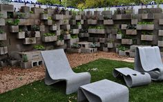 Bardaverde y gris top 10, garden walls, block planter, block garden, imag result, cinderblock, cinder block, googl imag, planters