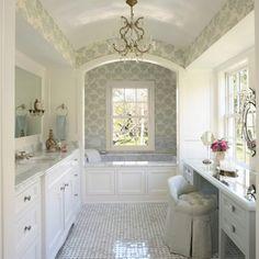 So pretty! My dream bathroom! Via houzz app