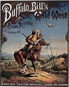 Buffalo Bill's Wild West Circus Show Poster