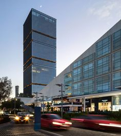 Corporativo Andares Skyline, Offices, Skyscraper, Multi Story Building, Bucket, Models, Travel, Architecture, Houses