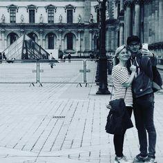 #Paris #louvre #selfie