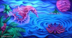 Psychedelic Ocean | Psychedelic ocean photo psychedelic-art-8.jpg