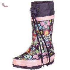 Playshoes Flora 188574, Bottes fille - Violet, 30/31 EU - Chaussures playshoes (*Partner-Link)