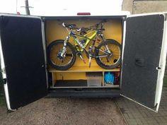 Bookbike Van Byografia : 19 best bike storage in sprinter images on pinterest sprinter van