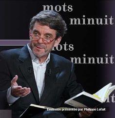 """Les mots de minuit est une émission de télévision culturelle de France 2, produite et présentée depuis septembre 1999 par Philippe Lefait http://desmotsdeminuit.france2.fr/ et le blog de l'émission """"Sortie de secours"""""""
