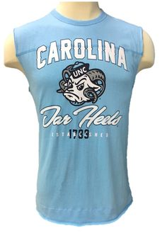 new style 2fdc5 5380c NCAA North Carolina Tar Heels Sleeveless Shirt  NorthCarolinaTarHeels Tar  Heels, Sleeveless Shirt, North