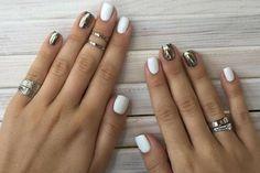 Vediamo come valorizzare le unghie corte e farle sembrare più lunghe e affusolate, con l'aiuto dello smalto e della nail art.