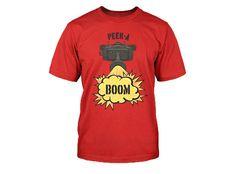 Jinx | World of Tanks Peek A Boom T-Shirt | UK Stock | Officially Licenced