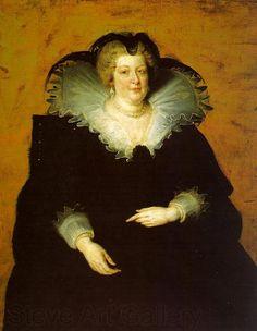 Peter Paul Rubens - Portrait of Marie de Medici