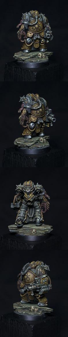 The Internet's largest gallery of painted miniatures, with a large repository of how-to articles on miniature painting Warhammer 40k Figures, Warhammer Paint, Warhammer Aos, Warhammer Models, Warhammer 40k Miniatures, Warhammer 40000, Minis, Chaos Legion, Miniaturas Warhammer 40k