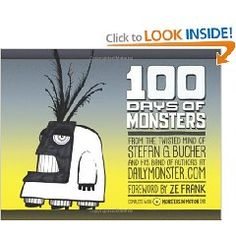 I use this book as an inspiration for my 6th graders for our Ink Blot Monster project.