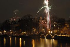 """Find out what New Year's Eve 2010 is like in Amsterdam, a city known for a """"party in the streets"""" mentality on this winter holiday."""