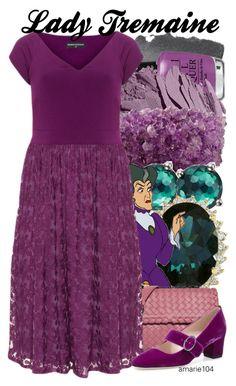 Lady Tremaine by amarie104 on Polyvore featuring polyvore fashion style Manon Baptiste SJP Bottega Veneta NOVICA Ippolita Bobbi Brown Cosmetics OPI Villain clothing