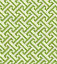 Home Decor Print Fabric-Pkaufmann Cross Section  Green