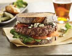 Once you savor the hearty taste of the Omaha Steaks Gourmet Burger no ordinary…