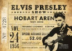 Impresión original de Elvis Presley: Viven en Hobart Arena, Ohio, 1956. Se trata de un original diseño inspirado en las clásicas actuaciones de artistas legendarios. Este llamativo cartel estilo vintage grabado sería un gran regalo para cualquier fan de Elvis Presley. Celebra las 1956 actuaciones legendarios cantantes en Hobart Arena, Ohio. ESTAS IMPRESIONES PUEDEN SER PERSONALIZADAS A OTRA FECHA, ÉNTREME EN CONTACTO CON PARA MÁS DETALLES. Todas nuestras impresiones se producen los más al...
