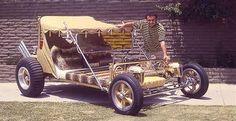 wild '60's custom VW dune buggy