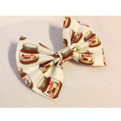 Hey, I found this really awesome Etsy listing at https://www.etsy.com/listing/207751770/nutella-bow