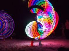 This #LEDhoop is rediculously lovely. #hoopnotica #hula hoop