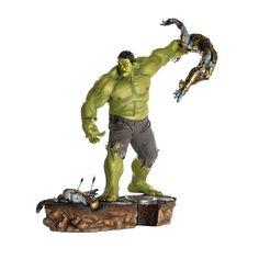 hulk 1/6 diorama (avengers) - iron studio