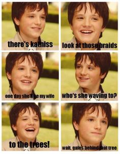 Oh my....just too cute! Little Josh Hutcherson.......