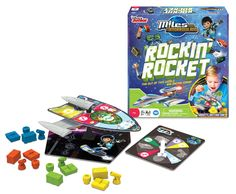 Blast off with Miles from Tomorrowlnd Rockin' Rocket Game