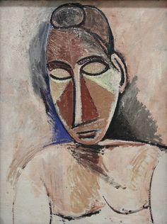 Picasso Pablo - Buste de femme nu | Flickr - Photo Sharing!