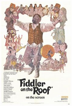 Fiddler on the Roof 27x40 Movie Poster (1972)