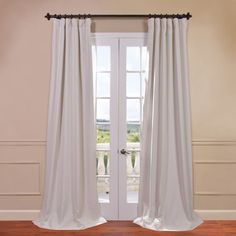 Stylist's Tip: This essential curtain panel is an effortless and stylish way to block out sunlight and save energy. Use it in the guest suite to encourage visiting out-of-towners to get cozy and sleep in, or hang it in the home office to create a makeshift nursery for days working at home while keeping an eye on your little one.