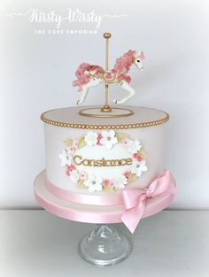 Kirsty Wirsty The Cake Emporium: The Carousel Cake