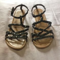 Sandals These sandals are worn a bit as you can see in the pictures. But other than that they are very cute. Shoes Sandals