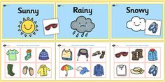 Weather Clothes Sorting Activity clothes sorting activity weather and the seasons clothes weather seasons clothes sorting weather conditions Weather Activities Preschool, Teaching Weather, Seasons Activities, Sorting Activities, Science Activities, Teaching Kids, Preschool Class, Science Classroom, Science Education