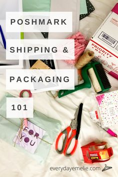 Shipping can be complicated, stressful, and expensive; but Poshmark takes all the work out of it.   Packaging is the backbone of every Posher's Pinterest, so it's easy to get carried away...