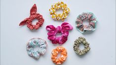 Scrunchies, Brooch, Sewing, Floral, Flowers, Jewelry, Bandana, Quotes, Instagram