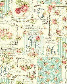 Japanese Import - Rose for You - Garden Sachet - Cream. From eQuilter.com