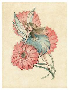 Art And Illustration, Fantasy Kunst, Fantasy Art, Pretty Art, Cute Art, Painting & Drawing, Watercolor Paintings, Watercolors, Fairy Sketch