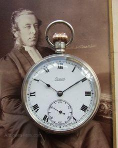 Antiques Atlas - Antique Silver Limit Pocket Watch