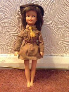 Vintage brownie Patch doll