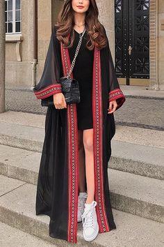 Iranian Women Fashion, Pakistani Fashion Casual, Pakistani Dresses Casual, Indian Fashion Dresses, Dress Indian Style, Indian Designer Outfits, Girls Fashion Clothes, Abaya Fashion, Teen Fashion Outfits