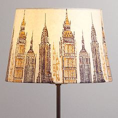 Cityscape Accent Lampshade