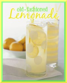 Old fashioned #lemonade