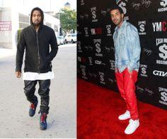 New Mens Black Genuine Leather Sweatpants Jogger Pants Size XS-4XL Sale Kanye