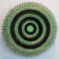 Aline Campbell: string art | mandalas