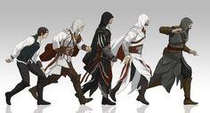 Ezio stages