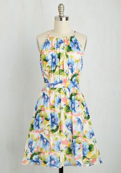 Ain't Seen Nothing Yacht Dress, @ModCloth