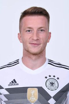 Marco Reus of Germany pose for a photo during the official FIFA World Cup 2018 portrait session on June 13 2018 in Moscow Russia Fifa World Cup 2018, World Cup Russia 2018, German Football Players, Soccer Players, Women's Cycling Jersey, Cycling Jerseys, Germany Team, Cycling Quotes, Cycling Art